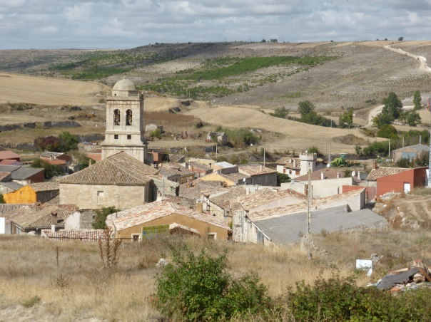 Little town of Hornillos - such a beautiful  and peaceful  place.  Has a definite future - town businesses understand the real value of the Camino pilgrims - have built an economy around the Camino - one of the few that has really grasped the economic significance of the hundreds who walk through each day.
