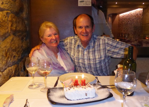 Celebrating our 48th wedding anniversary