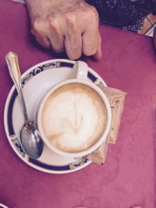 A special Pilgrims coffee.